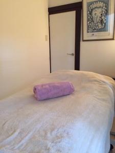 ベッド画像(紫タオル)IMG_5231