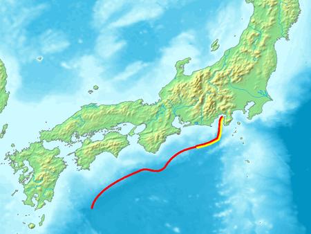 南海トラフ ウィキペディアより