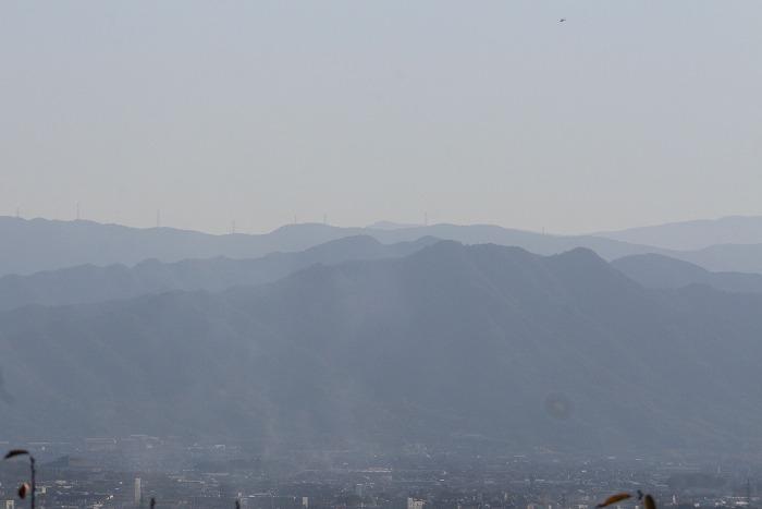 阿讃山脈 大師堂から望む南西 1 11 5