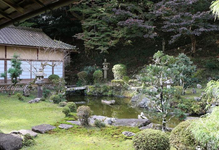 西教寺中庭 1 11 19