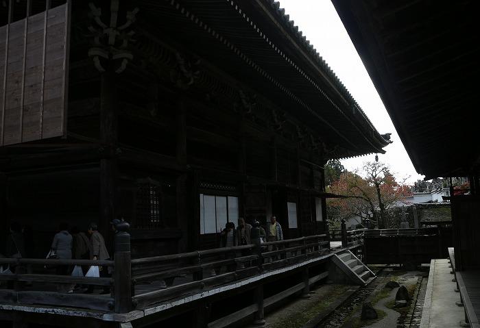 西教寺廊下 明智光秀の菩提寺 1 11 19