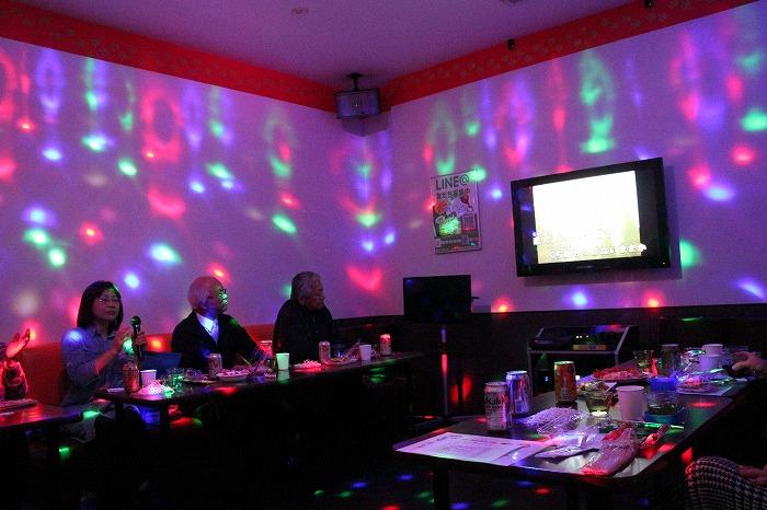 ピンクの部屋ライトアップ 1 11 28