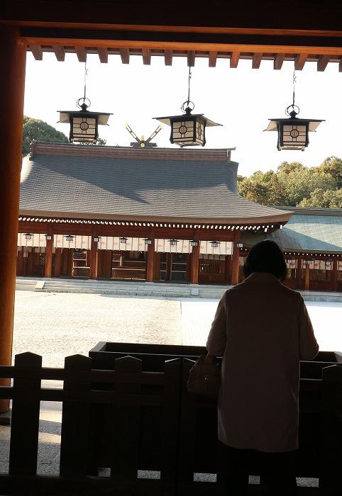 橿原神宮 お詣り 縦に 1 12 5