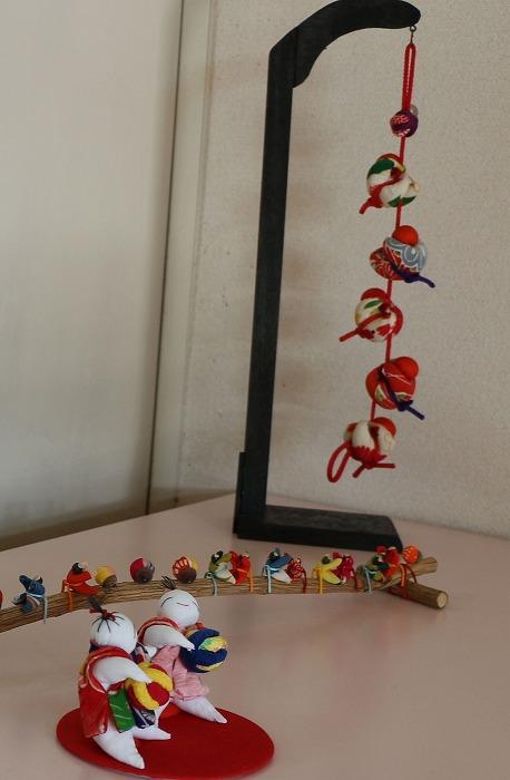 手作りの飾り 下幼玄関 1 12 13