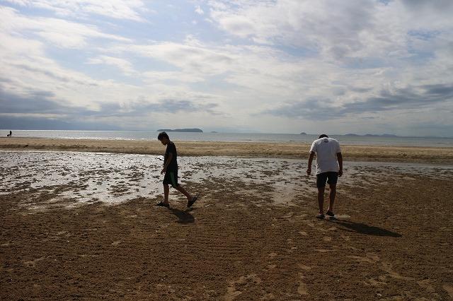 父毋ヶ浜 砂浜 空と海 1 10 5