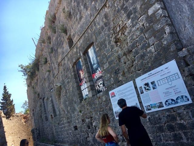 7日ドブロヴニクスルジ山 戦争博物館2