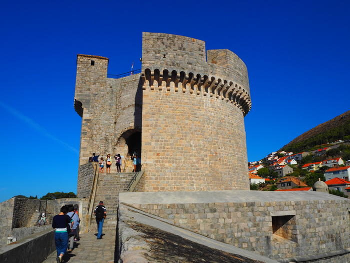 7日ドブロヴニク城壁ウォーク (21)ミンチェッタ要塞