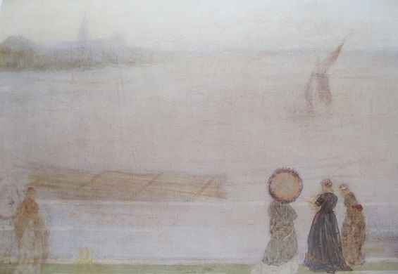 テムズ河畔1860グラスゴー ハンテリアん