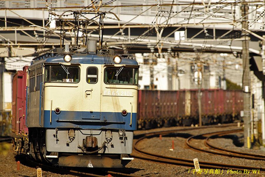 2101号機牽引75列車19年11月1