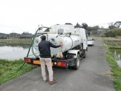 吉田農園液肥散布 (1)