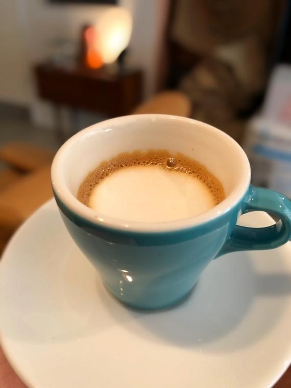 トランクコーヒー espresso corretto
