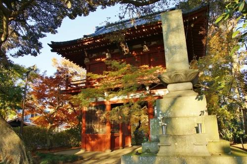 入り口長谷山本土寺