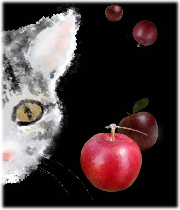 鉄腕ちゃんとリンゴ