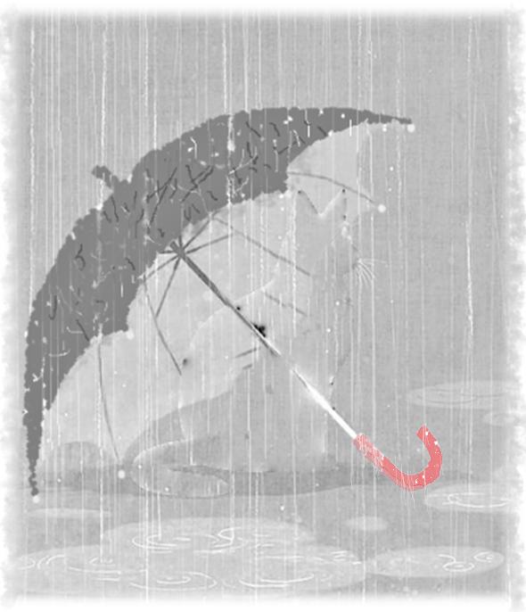 雨の別れ2