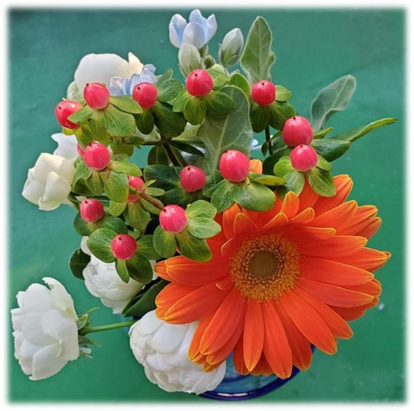 1リエルの花束