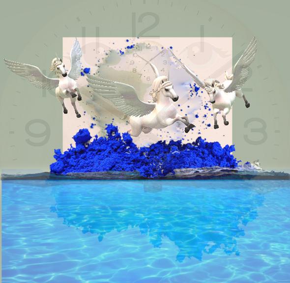 5イブクライン青の皮下噴火
