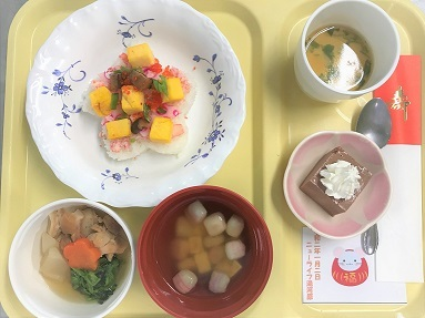 2日昼食常食