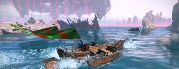基本プレイ無料の自由系オンラインRPGアーキエイジ、海上アリーナを戦場としたイベント「カマハの罠」を開催したよ