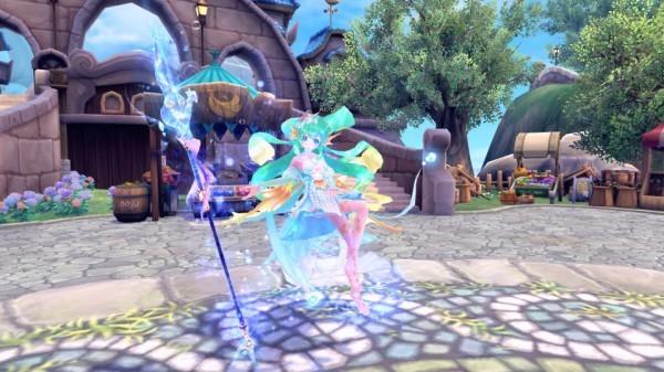 基本プレイ無料のアニメチックファンタジーオンラインゲーム、幻想神域、特殊ダンジョン「幻神奇譚」に「ウンディーネの冒険編」を追加したよ