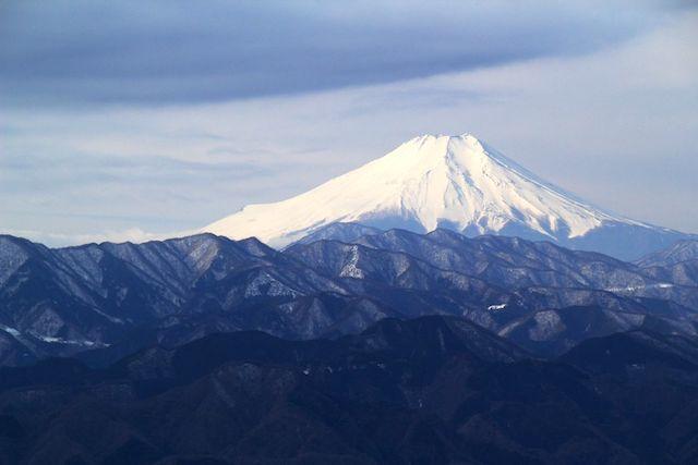 20191217 冬富士