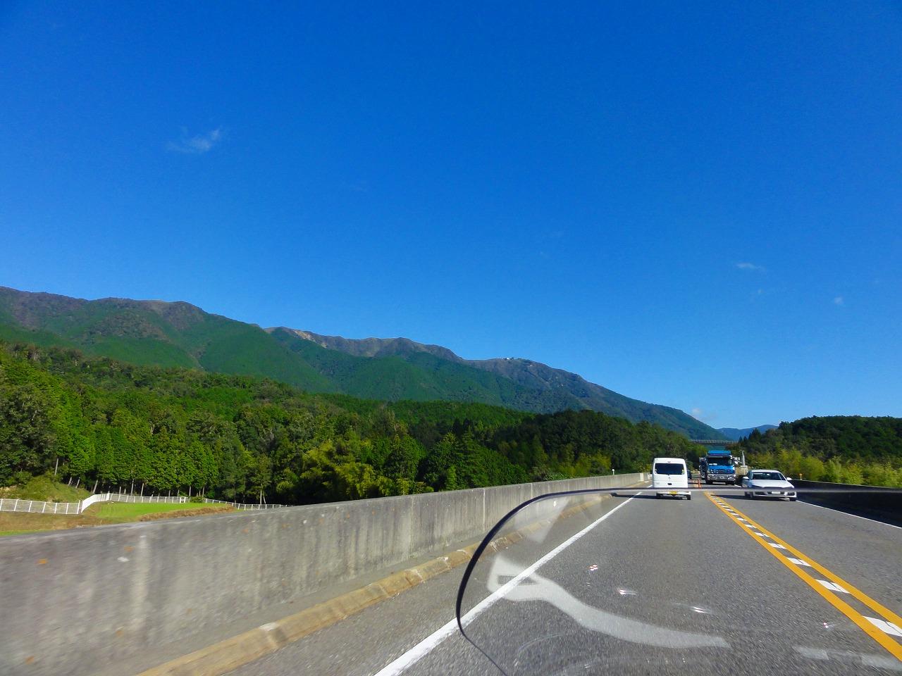 親子で温泉&キャンプツーリング 2019(湖西道路)