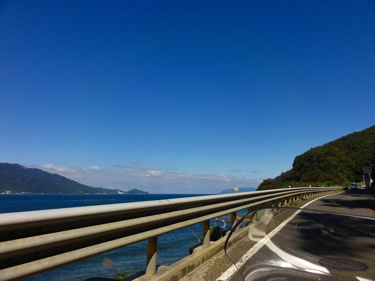 親子で温泉&キャンプツーリング 2019(国道8号線・敦賀)
