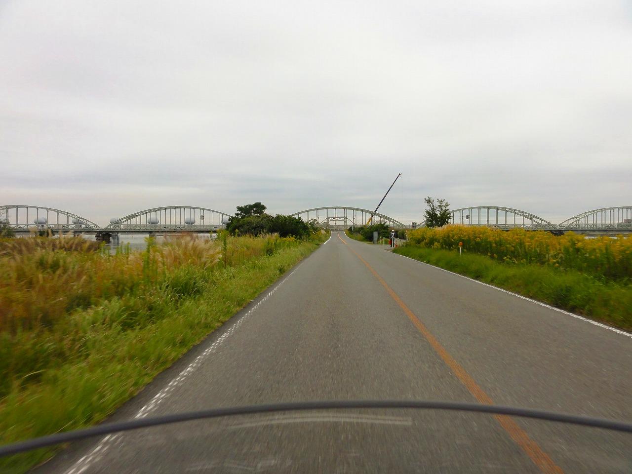 親子で温泉&キャンプツーリング 2019(長良川堤防)