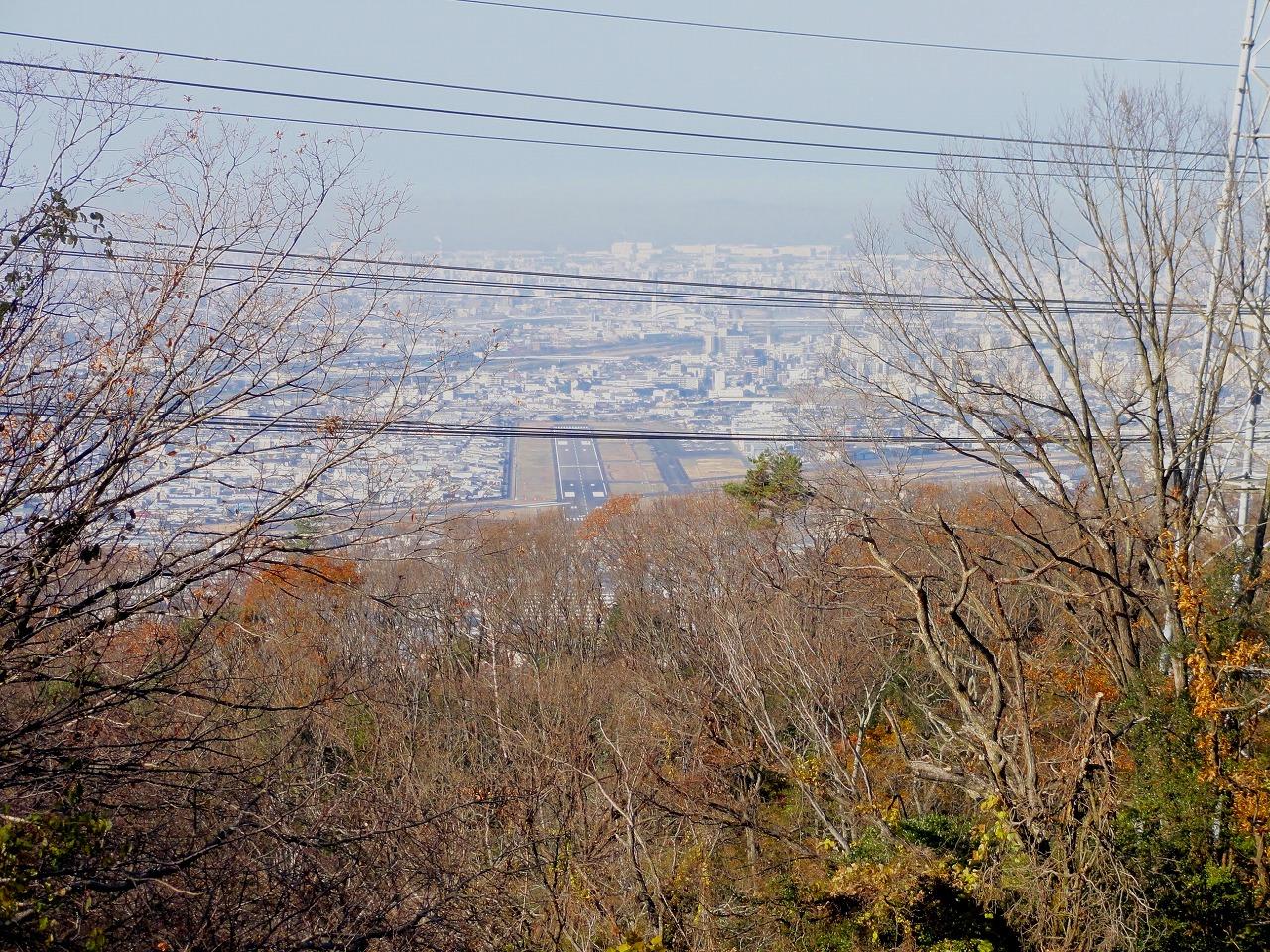 ジャイロキャノピーで信貴山行った。(八尾空港)