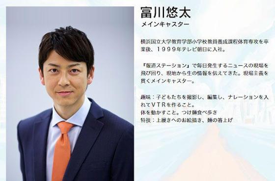 富川悠太 報道ステーション テレビ朝日 新型コロナ
