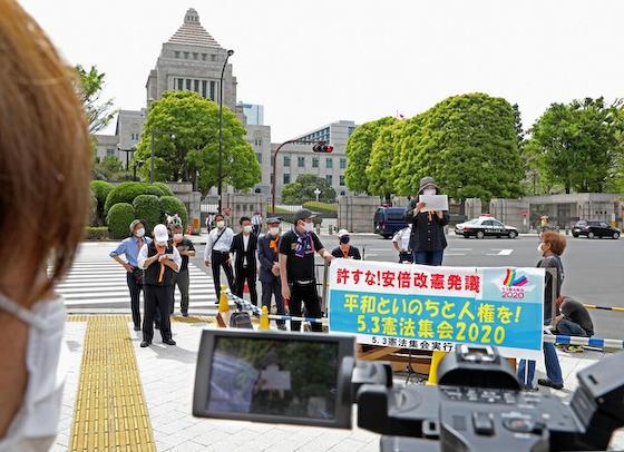 護憲 憲法記念日 パヨク 矛盾 日本国憲法 強制力 緊急事態条項