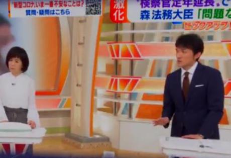 萩谷麻衣子 小松靖 検察 検察庁法改正 定年 黒川弘務 パヨク