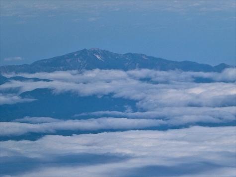 白山【スカイマーク機からの眺望】