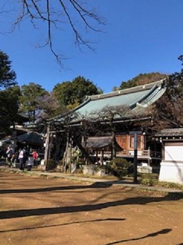 菩提寺境内