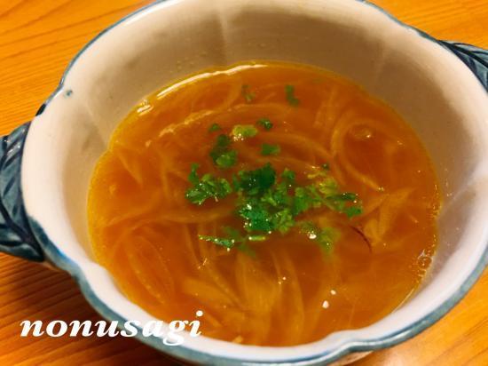 レンズ豆と玉葱のスープ