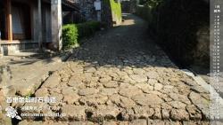 首里金城町石畳道 デスクトップカレンダー1月