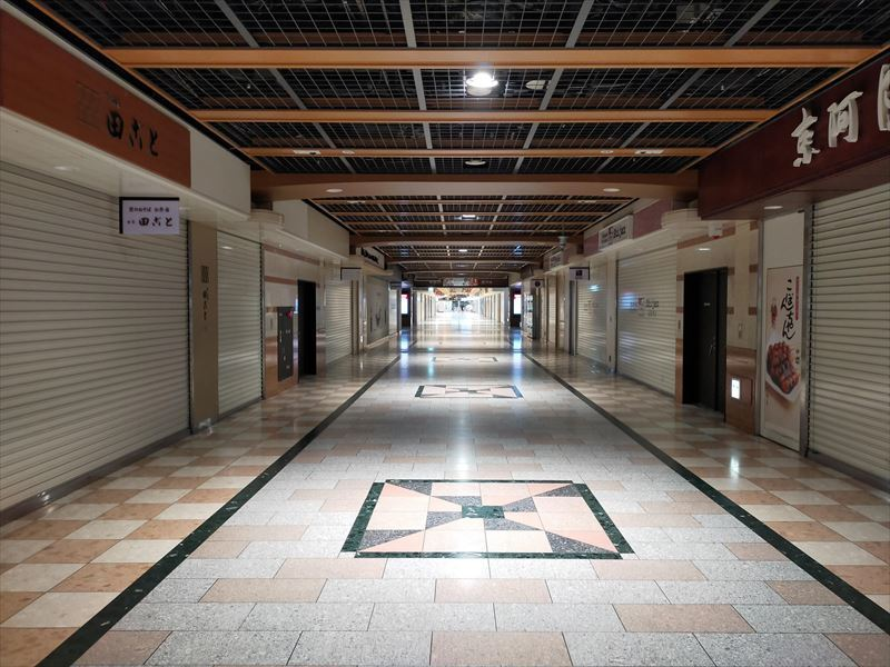 京都駅地下街ポルタ1