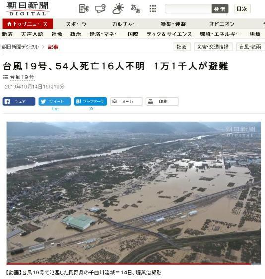 台風被害状況