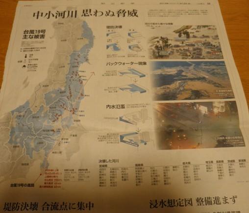 台風19号主な被害