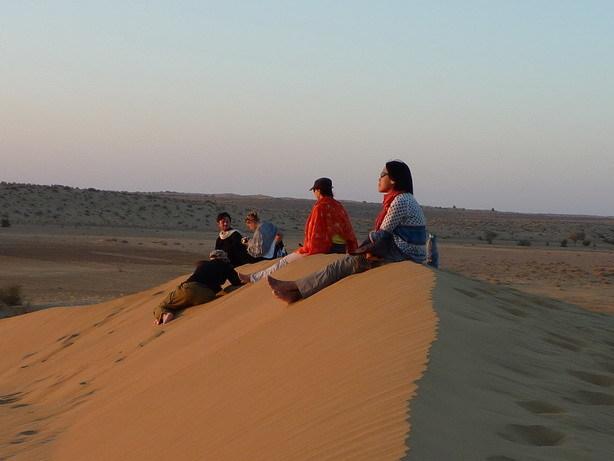夕暮れの砂丘2_サイズ変更