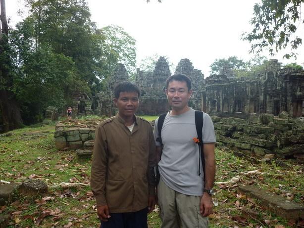 案内してくれたカンボジア人_サイズ変更