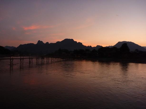 ソン川の夕暮れ2_サイズ変更