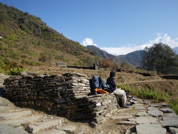Komrong Dandaへの登り1_サイズ変更