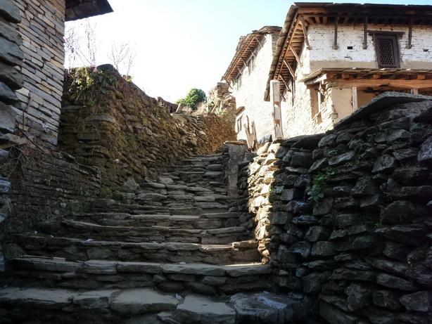 村の風景8 Ghandruk_サイズ変更