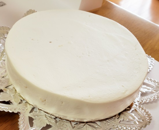 191013レアチーズケーキ1