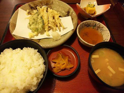 20-3-15わかさ天ぷら定食