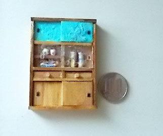 水屋と100円玉