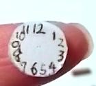 柱時計の文字盤