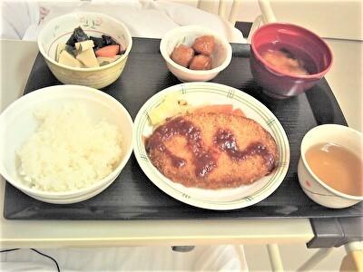 入院昼食1108