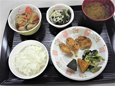 入院夕食1114