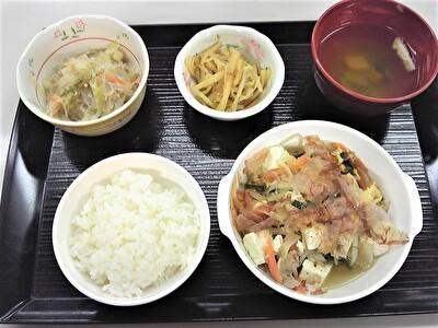 入院夕食1113